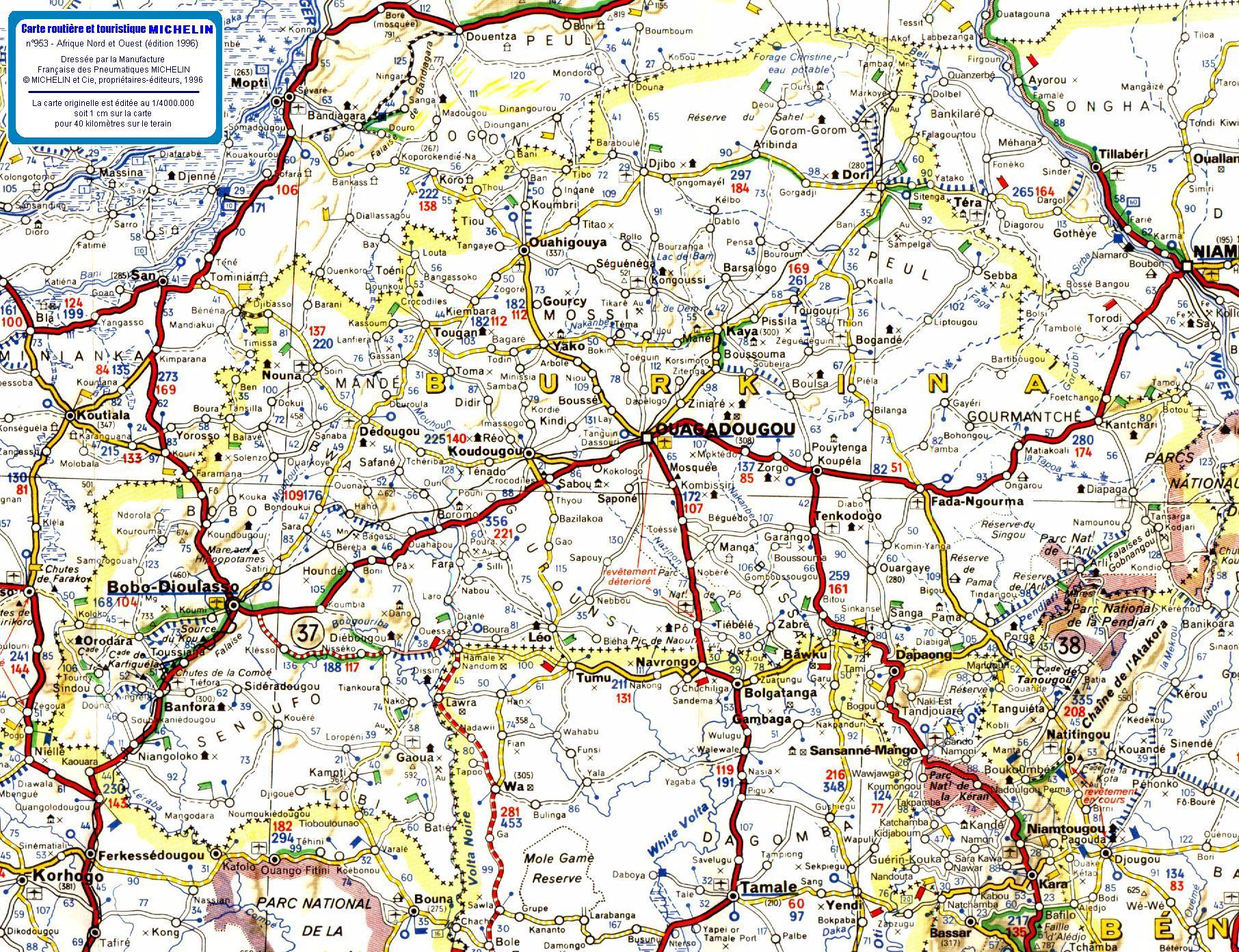 carte de routiere
